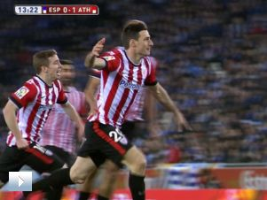 Espanyol – Athletic 0:1: gol Aduriza