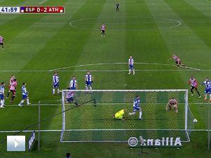 Espanyol – Athletic 0:2: gol Etxeity