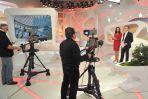 """Studio nagraniowe """"Kawy czy herbaty"""" (fot.J.Bogacz/TVP)"""