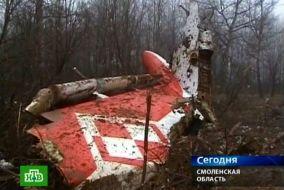 Pierwsze zdjęcia prezydenckiego Tupolewa tuż po katastrofie (fot. PAP)
