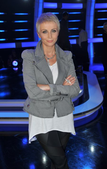 Podobnie jak Kasia Zielińska, która również zmieniła uczesanie (fot. J. Bogacz/TVP)