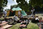 Obóz rycerski przed bitwą (fot. PAP/Adam Warżawa)