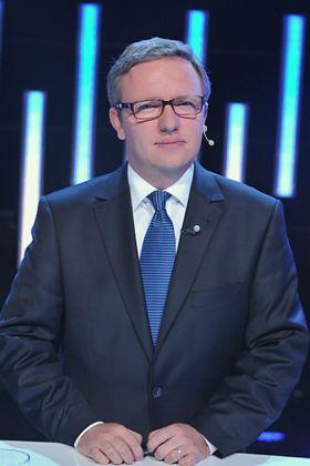 Prawo i Sprawiedliwość reprezentował Krzysztof Szczerski (fot. Jan Bogacz) (c)