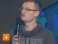 Ruciński - Zdobywanie pieniędzy i akcje społeczne (VI PNK 2012) [TVP]