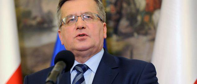 Prezydent Bronisław Komorowski (fot. PAP/Jacek Turczyk)