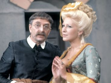 Czesław Wołłejko i Emilia Krakowska w jednej ze scen (fot. TVP)