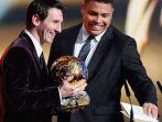 W dziesiątce znaleźli się m.in. Leo Messi i Ronaldo (fot. Getty Images)