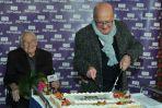 Z okazji jubileuszu ekipa TVP Seriale przygotowała pyszny tort (fot. J.Bogacz)