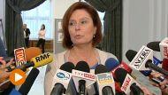 Marszałek Sejmu Małgorzata Kidawa-Błońska (fot. TVP Info)
