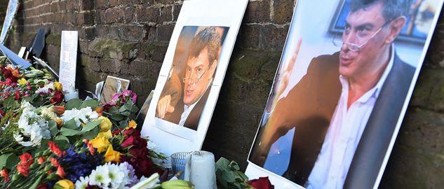 Borys Niemcow, jeden z liderów opozycji demokratycznej w Rosji, został zastrzelony w piątek w Moskwie (fot. PAP/EPA/ANDY RAIN)