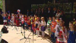 Rocznicę  Deklaracji Schumana świętowano w Parku Staromiejskim