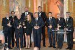 28. gala rozdania Wiktorów odbyła się na Zamku Królewskim w Warszawie (fot. I. Sobieszczuk/TVP)
