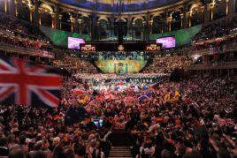 """""""The Last Night of the Proms"""" to jedno z najważniejszych wydarzeń muzycznych w Zjednoczonym Królestwie (fot. TVP)"""