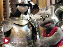 Kot Budzik w Muzeum Wojska Polskiego