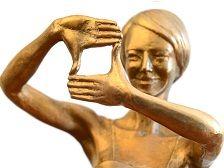 Statuetka Nagrody PISF fot. Marcin Kułakowski/PISF