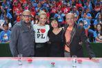 Drużyna Joanny Koroniewskiej: Piotr Gąsowski, Hanna Śleszyńska i  Robert Rozmus (fot. I. Sobieszczuk/TVP)