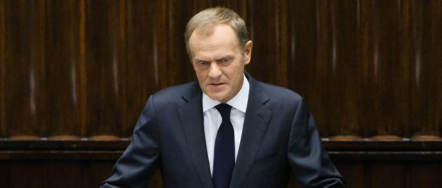 Premier Donald Tusk (for.  PAP/Paweł Supernak)