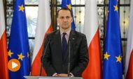 Marszałek Sejmu Radosław Sikorski (fot. PAP/Jakub Kamiński)