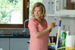 Główna bohaterka serialu Iga Małecka (w tej roli Joanna Kulig) ma świetny zmysł obserwacji, miękkie serce i ostry język (fot. Aleksandra Mecwaldowska)