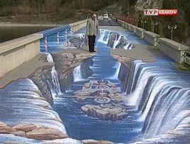Malowidło ma 36 metrów długości i siedem i pół metra szerokości.