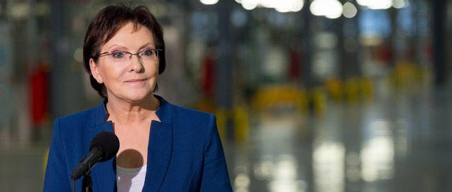 Premier Ewa Kopacz ocenia pracę kolejnych resortów (fot.PAP/Maciej Kulczyński)