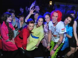 Michał obiecał, że nie przestanie współpracować ze swoim łódzkim zespołem (fot. TVP)