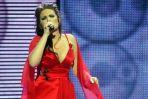 """Nina Kodorska zaśpiewała piosenkę """"Łza na rzęsie"""" (fot. Leszek Wróblewski)"""
