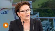 Premier Ewa Kopacz (fot. PAP/Maciej Kulczyński)