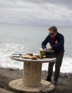 Fuerteventura – czarna plaża Ajuy (fot. TVP)