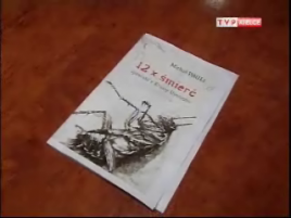 """Książka """"12 razy śmierć-historia z krainy uśmiechu"""""""