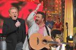 Krzysztof Krawczyk i Daniel Olbrychski zaśpiewali w duecie (fot. J. Bogacz/TVP)