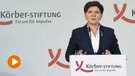 Premier Beata Szydło w Berlinie  (fot. PAP/Radek Pietruszka)