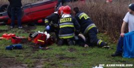 Pierwsze  pogrzeby ofiar wypadku w środę  8.01 (fot.kamienskie.info)