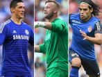 Ostatnie dni okienka będą z pewnością bardzo emocjonujące. Od lewej: Fernando Torres, Artur Boruc, Radamel Falcao (fot. Getty Images)