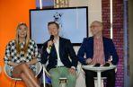 Bohaterowie programu – Marcelina Zawadzka, Rafał Mroczek i Kamil Nosel opowiadają o swoich podopiecznych (fot.TVP / I.Sobieszczuk)