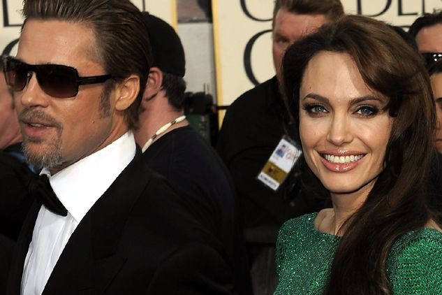 Brad Pitt i Angelina Jolie (fot. EPA/PAP)