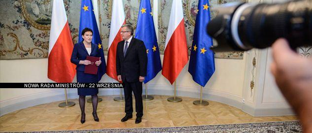 Ewa Kopacz i Bronisław Komorowski (fot. PAP/Jakub Kamiński)
