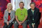 Aktywnego już od ponad 30 lat artystę zaprosili do swojego programu Maria Szabłowska i Krzysztof Szewczyk (fot. Jan Bogacz/TVP)