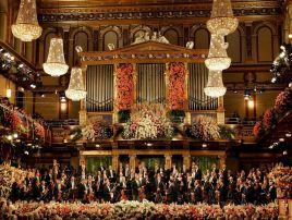Ostatni noworoczny koncert w Wiedniu (fot. PAP)