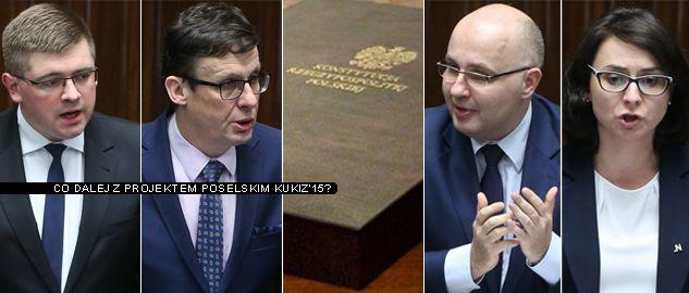 Co dalej z projektem kukiz'15? (fot. PAP/Rafał Guz)