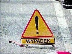 Do wypadku doszło na wysokości Wartkowic w powiecie poddębickim (fot. arch.)