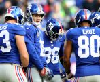 10. Notowanie otwierają New York Giants wyceniani na 1,55 miliarda dolarów (fot. Getty Images)