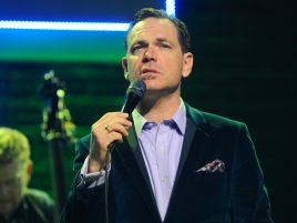 8. urodziny TVP Kultura uświetnił swoim koncertem muzyk jazzowy Kurt Elling (fot. Tomasz Urbanek/East News)