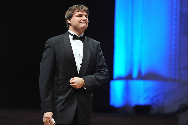 Gracjan Szymczak był ostatnim z Polaków, którzy wystąpili na XVI Konkursie Chopinowskim (fot. Jan Bogacz/TVP)