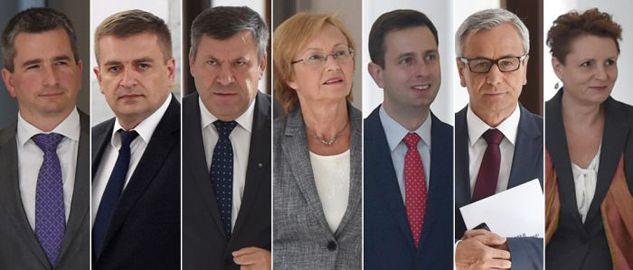 Ewa Kopacz, desygnowana na premiera, w środę spotkała się z siedmioma ministrami obecnego rządu (fot. PAP/Radek Pietruszka)