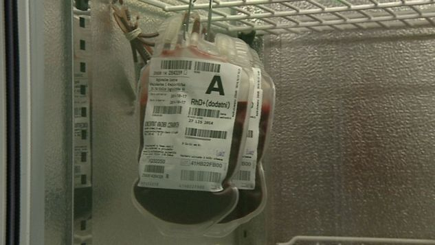 Brakuje krwi!