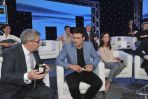 Ryszard Czarnecki, Mateusz Damięcki i Monika Pyrek (fot. Ireneusz Sobieszczuk/TVP)