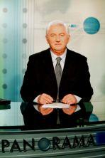 """Od 2002 roku był jednym z prowadzących """"Panoramy""""  (fot. TVP)"""