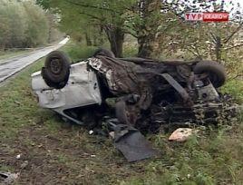 Warunki na drogach są coraz gorsze - coraz łatwiej więc o wypadek