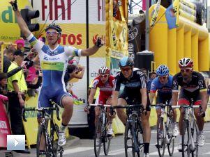 Tour de Pologne: zacięty finisz w Katowicach